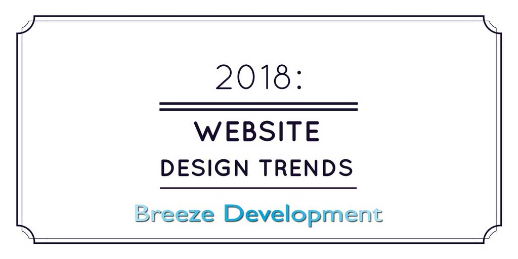 Website Design in 2018