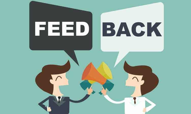 Seek Feedback
