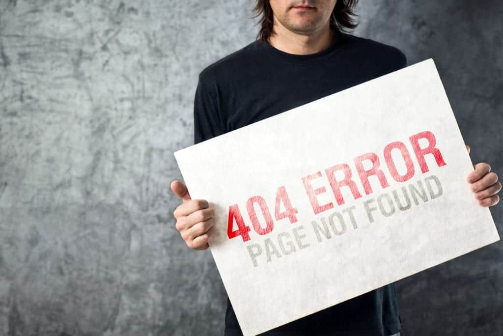 Why do you need 404 error pages? - Breeze Development
